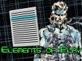 Elements of Play - Menus (Metal Gear Solid 2, Castlevania Lament of Innocence, Fable III)
